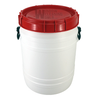 55L Screw Top Lid DI Resin Storage Barrel