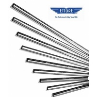 Ettore Stainless Steel Squeegee Channels