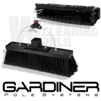 Gardiner Super-Lite Brush Dual-Trim Flocked Bristles
