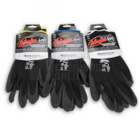 Black Chrome Ninja Gloves