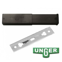 Unger 4in (10cm) Stainless Steel Blades - Pack of 25