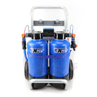 Twin 2 x 8 Ltr DI Trolley Pure Water System
