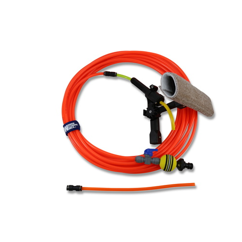 20M Pole Hose Kit [Choose Your Attachments: Valve Pole Tip with Scrubber]