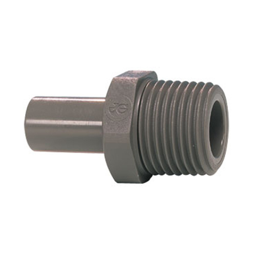 "John Guest Stem Adaptor 3/8"" thread 1/2"" stem"