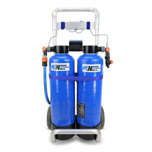 Twin 2 x 12.5 Ltr DI Trolley Pure Water System
